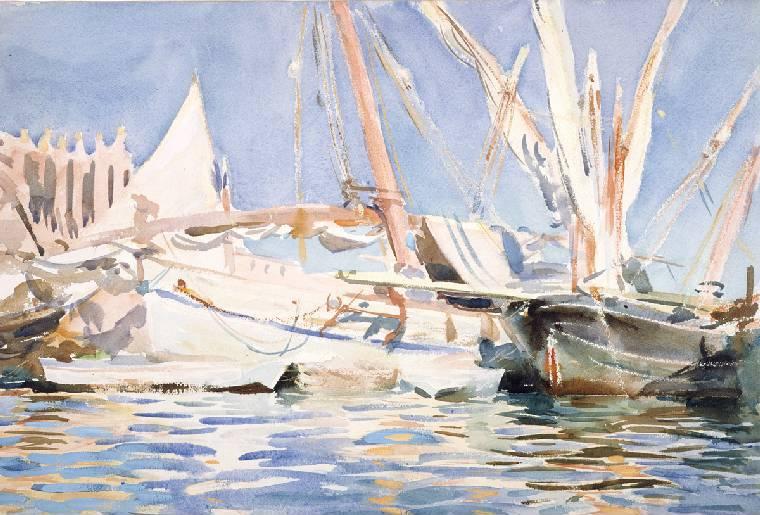 John Singer Sargent: Palma, Majorca