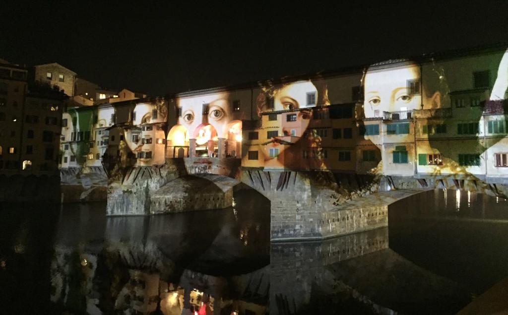 Bronzino meets the Ponte Vecchio