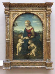 Raphael, La belle jardinière, The Louvre